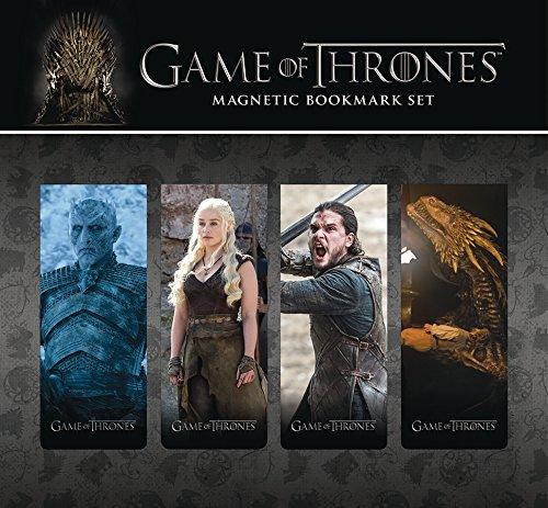 Dark Horse Deluxe Juego de Tronos Marcapáginas Magnético Set