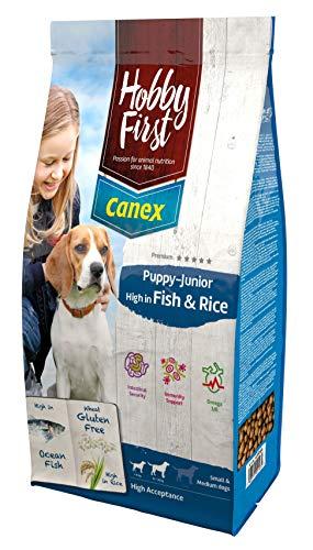 Hobbyfirst canex 12 KG Puppy/junior brocks Rich in Fish & Rice hondenvoer (Vans-junioren)