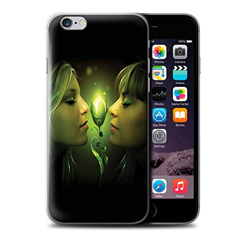 Officiel Elena Dudina Coque / Etui pour Apple iPhone 6+/Plus 5.5 / Relation amicale Design / Art Amour Collection Relation amicale
