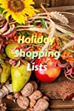 Holiday Shopping Lists: Volume 1