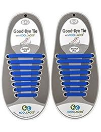 CONMING 16pcs Silicone Free Tie 9 arco iris colorea no lazo cordones elásticos corriendo cordones de zapatos impermeables para zapatos casuales