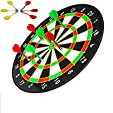 #8: Famous Quality Classic Score Dartboard Kit - 6 Soft Darts,Family Fun Games,Birthday/Christmas Gifts for Children Adults (18 inch)