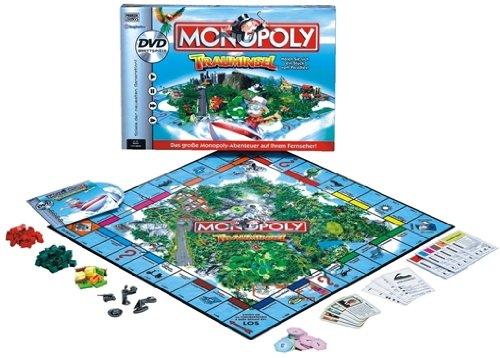Hasbro – Parker 52479100 – Monopoly Trauminsel DVD Brettspiel