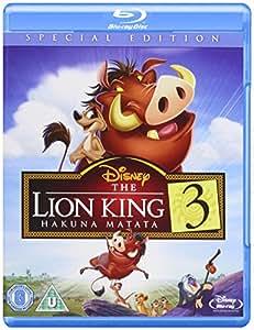 Lion King 3 Magical Gifts BD Retail [Blu-ray] [Region Free]
