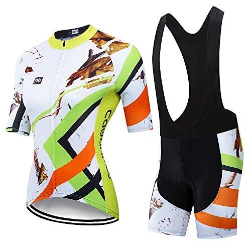 YDJGY Frau Kurzarm Sexy KöRper Team Tri-Skinsuit AusrüStung Benutzerdefinierte Radsportbekleidung Ciclismo Maillot Radfahren Triathlon