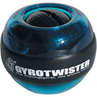 GyroTwister Classic - Aparato de entrenamiento para manos y brazos azul Talla:6,5 x 6,5 x 6,0 cm