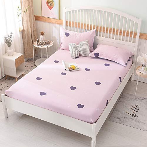 ür Bettdecke Einzelstück 1,8 Blatt Bettdecke rutschfeste staubdichte Bettdecke Schutz Matratzenbezug 1,8 * 2 ()