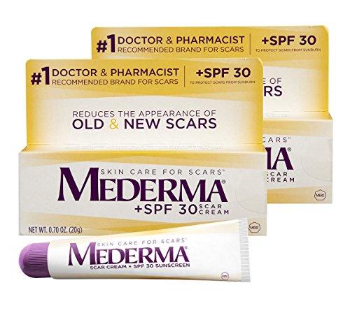 Mederma Scar Cream Spf 30 Sunscreen 0 7 Ounce Pack Of 2 Buy
