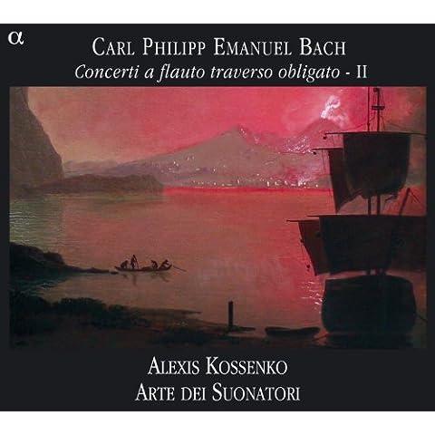C.P.E. Bach: Concerti a flauto traverso obligato, Vol. 2