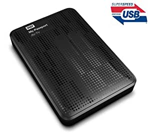 WD My Passport AV-TV (WDBHDK0010BBK-EESN) - 1 To - MediaPlayer avec disque dur