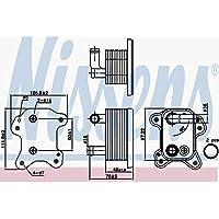 Nissens 90801 Radiador de Aceite Motor