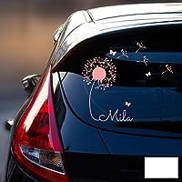 Autoaufkleber Sticker Aufkleber Name Kindername Wunschname Baby Girl Boy Eule