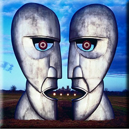 Pink Floyd The Division Bell Metal Heads Nue 76mm x 76mm Kühlschrankmagnet -
