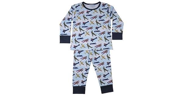 Powell Craft Douglas Spitfire Vintage Aeroplanes 100/% Cotton Pyjamas 6-7 years