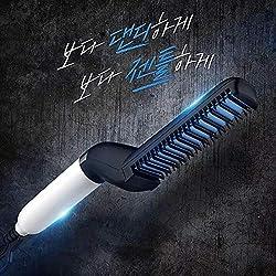 Styler rapide pour les hommes, Fer à friser les cheveux en céramique pour les hommes Styling de fer Fer à lisser Curler Set