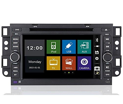 17,8cm-INDASH Auto DVD-Player mit BT/TV, USB/SD AUX, Audio Radio Stereo, Car Multimedia Haupteinheit für Chevrolet Aveo/Epica/Lova/capativa/Spark/Optra 200220032004200520062007200820092010