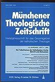 Der Katechismus der Katholischen Kirche - Bericht und Diskussion, in: MÜNCHENER THEOLOGISCHE ZEITSCHRIFT, Heft 04/1994.