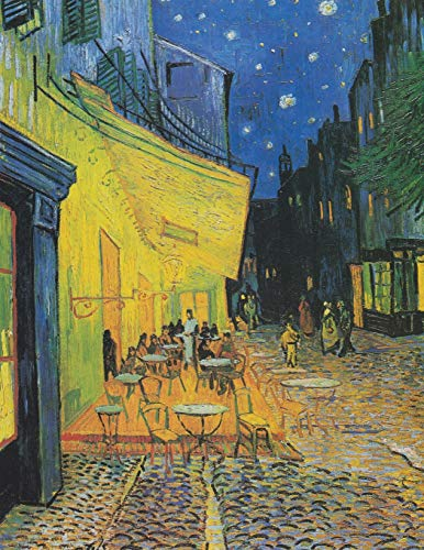 2019 Daily Planner: Vincent Van Gogh's Beautiful Café Terrace at Night on a practical full sized page a day calendar will help  keep you organized in style! (Van Gogh Planner, Band 1) (School Business Girl Kostüm)