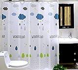 Duschvorhang, Bad Duschvorhang, dicke wasserdichte Schimmel Schutz, PEVA, Bad Trennwand Wasser Vorhang, ziehen Vorhang , 300*high200