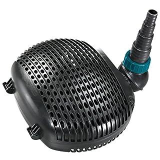 AquaForte Filter-/Teichpumpe EC-8000 8m³/h, Förderhöhe 4,5m, 50Watt