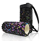 #1: Foam Roller for Deep Tissue Muscle Massage - Trigger Point Therapy - Myofascial Release - Muscle Roller for Fitness, Cross Fit, Yoga & Pilates comes With Cover
