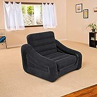 اريكة قابلة للنفخ تتسع لشخصٍ واحد وتتحول الى سرير عند سحبها من انتكس #68565