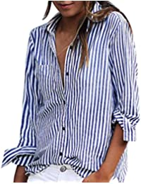 LACOSTE Damen Bluse Langarm Hemd Shirt Oberteil