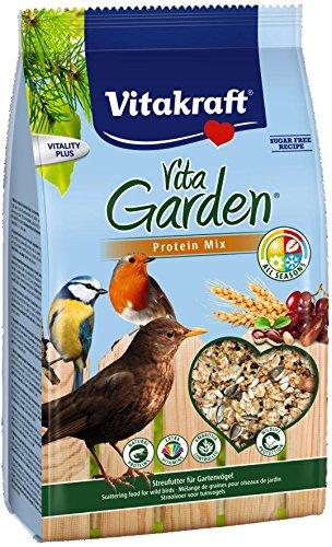 Vitakraft Vita Garden Mélange Protéiné aux Fruits pour Oiseau du Ciel - Lot de 3