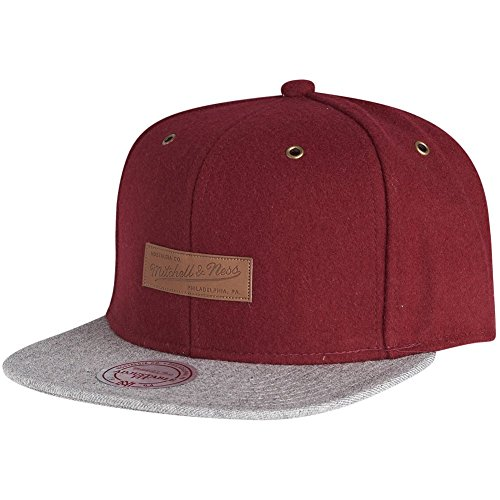 Mitchell & Ness Snapback Cap - PRIME Brand Logo burgundy (Primos-logo-cap)
