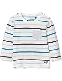 TOM TAILOR Kids Baby-Jungen Langarmshirt Striped T-Shirt with Pocket
