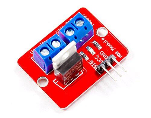MissBirdler MOSFET Switching-Modul IRF520 ähnl. Relais für Arduino Raspberry Pi PIC AVR ARM (Mosfet-modul)
