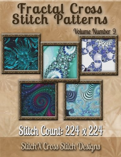 Fractal Cross stitch Patterns Volume Number 9