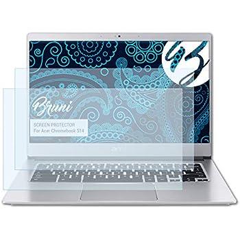 atFoliX Protection /Écran Film de Verre en Plastique Compatible avec Acer Chromebook 514 Verre Film Protecteur 9H Hybrid-Glass FX Protection /Écran en Verre tremp/é de Plastique