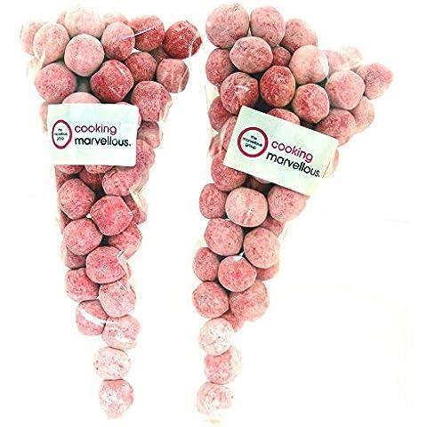 Chewy Fragola Bon Bon Candy Dolci 1kg (2.2lb) (pacchetto di 5) - Chewy Dolce