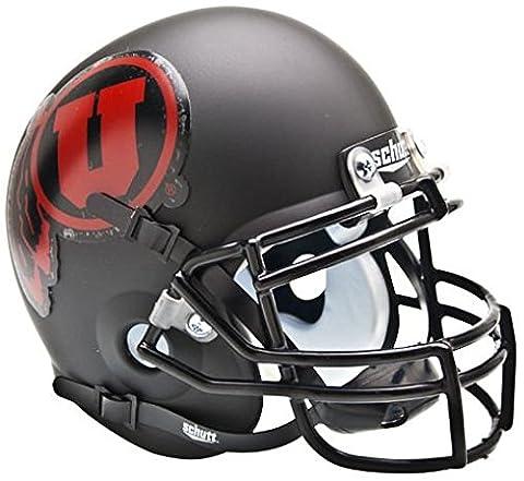 NCAA Utah Utes Collectible Alt 1 Mini Helmet, Matte