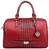 #4: Diana Korr Women's Shoulder Bag (Red-st_i_1225b)