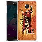 Samsung Galaxy A3 (2016) Housse Étui Protection Coque Tatouage Orange Rock n Roll