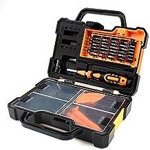 Caja de herramienta de reparación 44 en 1 Destornillador de precisión para mantenimiento de aparatos electrónicos Conjunto de herramientas profesionales Caja de herramientas portátil