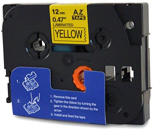 Bubprint nastro a cassetta comaptibile per Brother TZE-631 TZ-631 e P-Touch 1000 1005 1010 1080 1250 PTP900W D 200 D600 E100 H75 H105 H200 H 500 P700
