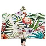 YJZ Huggable Hooded Blanket für Kinder - Plant Flower - Der perfekte Spielkamerad für Ihr Kind Bademäntel Cloak Hood Bath,E,150 * 200cm