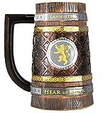 Game Of Thrones Jarra de Cerveza Casa Lannister. Juego de Tronos, 600ml
