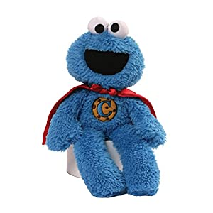 Sesame Street Sesame Street Cookie Monster Superhero Take Along Plush