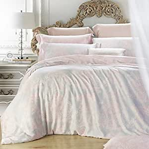 ang schlafzimmer setzt queen kingsize betten eingerichtet tencel elegante blume floraler. Black Bedroom Furniture Sets. Home Design Ideas