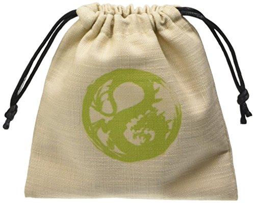 Q-Workshop QWOB5R58 - L5R - Dragon Clan Dice Bag, Brettspiel