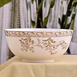 Large bone China Bowl single,7 inch