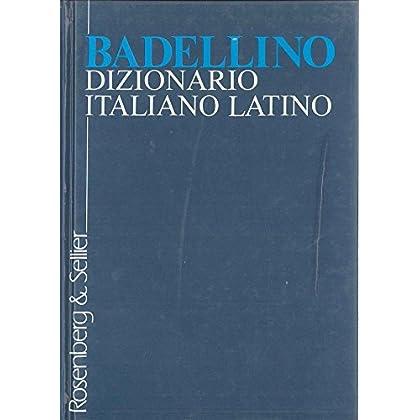 Dizionario Italiano-Latino