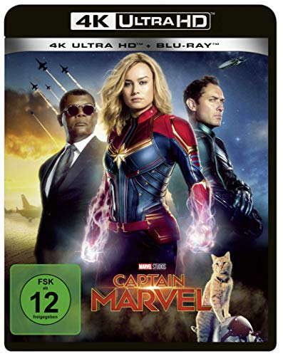 Captain Marvel [4K Ultra HD] [Blu-ray]