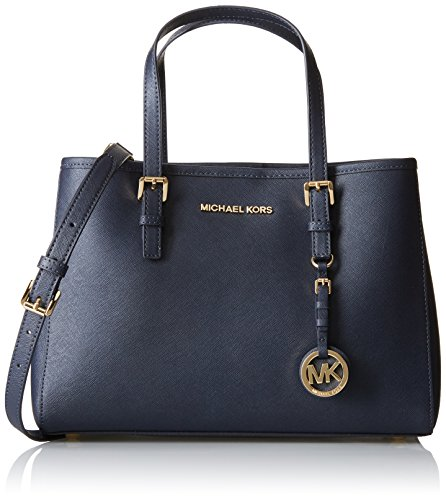 michael-kors-damen-jet-set-travel-saffiano-leather-medium-tragetasche-blau-admiral-12-x-22-x-31-cm