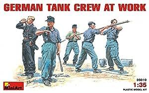 """Miniart 1: 35Échelle """"GERMAN Tank Crew Plastique"""" au travail """"modèle kit"""