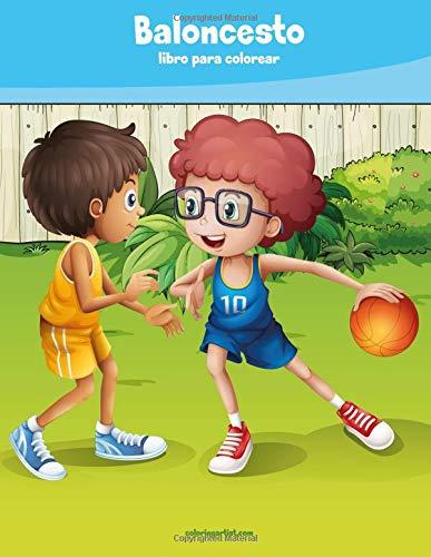 Baloncesto libro para colorear 1 par Nick Snels